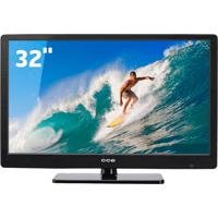 "Tv Led 32""Hd Preta Cce - Conversor Digital Integrado - Entradas Hdmi E Usb"
