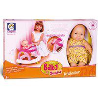 Boneca Baby Junior - Andador - Cotiplás