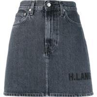 Helmut Lang Saia Jeans - Azul