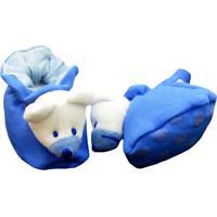 Pantufa Reve Dor Sport Ursinho Azul