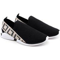 Sneaker Luz Da Lua 86504 Knit Preto