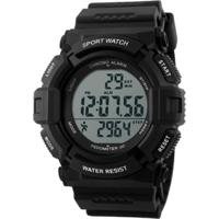 Relógio Skmei Digital Pedômetro 1116 Preto
