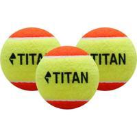 Bola De Tênis Titan Kids Laranja Estágio 2 - Unissex