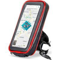 Suporte Celular 6.3Pol Case P/ Moto Carregador Usb 2A Exbom