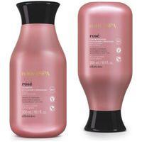 Combo Nativa Spa Rosé: Shampoo, 300 Ml + Condicionador, 300 Ml