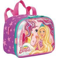 Lancheira Pequena 2 Em 1 Barbie Dreamtopia Infantil Sestini - Feminino