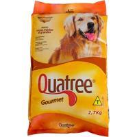 Ração Para Cães Quatree Gourmet Adultos Raças Médias E Grandes Com 2,7Kg