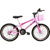 Bicicleta Aro 20 Avance Infantil Freios V-Brake Rebaixada - Feminino