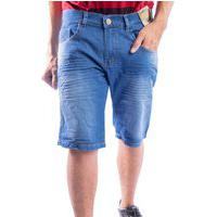 Bermuda Jeans Masculino Short Nstore Destroyed