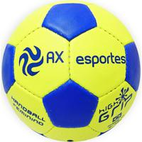 Bola De Handebol Feminino Ax Esportes Hl2 Costurada Amarela
