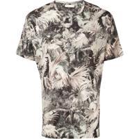 Etro Leaf Print T-Shirt - Neutro