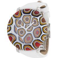 Yunik Relógio Nikki 36Mm Pequeno - Branco