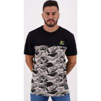 Camiseta Starter Especial Camu Star Cinza
