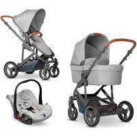 Carrinho De Bebê Como 4 Gray Até 22 Kg - Abc Design