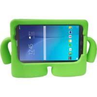 "Capa Boneco Iguy Infantil Para Tablet Samsung Galaxy Tab3 7"" Sm-T110 T111 T113 T116 + Película De Vidro Verde"