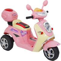 Moto Elétrica Infantil Lambreta Rosa - Bel Brink - Tricae