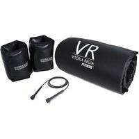 Kit 1 Kg - Colchonete Academia / Yoga / Fitness + Par De Caneleira / Tornozeleira + Corda De Pular De Brinde