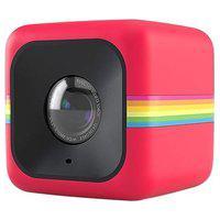 Câmera De Ação Polaroid, Cube, 1080P, 6Mp, Memória Expansível Até 128Gb, Acompanha Cartão Micro Sd De 8Gb, Vermelha - Polcubelsr