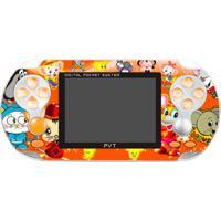 Console Portátil Joyful 500 Jogos - Laranja