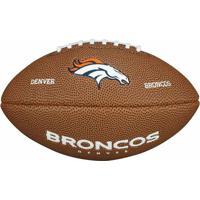 Bola Futebol Americano Wilson Denver Broncos - Unissex