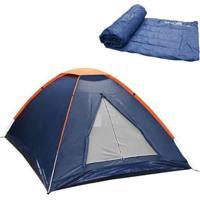 Barraca Camping Nautika Panda 2 Pessoas + Colchonete Camp Mat - Unissex