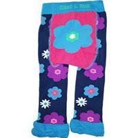 Meia Calça Blade & Rose Legging Flor Azul