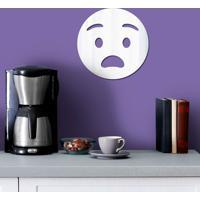 Espelho Decorativo Emoji Chocado