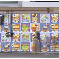 Saldão - Adesivo Para Azulejo Divertidos 10X10Cm