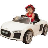 Carrinho Elétrico Xalingo Audi R8 6V Com Controle Branco