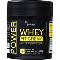 Yenzah Power Whey Fit Cream - Máscara De Tratamento 480G - Unissex-Incolor