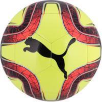 2cb32c33b8 Bola De Futebol De Campo Puma Final 6 Ms Trainer - Amarelo Cla Vermelho