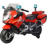 Moto Bombeiro Bmw Eletrica 12V Bandeirante