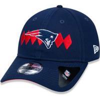 df7dbcd66830f ... Boné 920 New England Patriots Nfl Aba Curva New Era - Masculino-Marinho