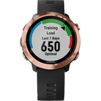 Monitor Cardíaco Com Gps Garmin Forerunner 645 - Preto