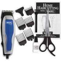 Máquina De Cortar Cabelo Wahl Home Cut Basic 110V - Unissex-Prata+Azul