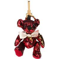 Burberry Chaveiro 'Thomas Bear' Com Paetê - Vermelho