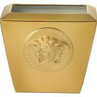Vaso Medusa 18 Cm Gold Versace