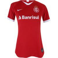 Camisa Do Internacional I 2019 Nike - Feminina - Vermelho/Branco