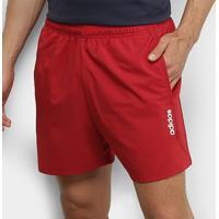 Short Adidas E Pln Chelsea Masculino - Masculino-Vermelho+Branco