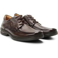Sapato Social Conforto Rafarillo Air Masculino - Masculino-Marrom