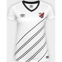 Camisa Athletico Paranaense Ii 19/20 S/N° Torcedor Umbro Feminina - Feminino