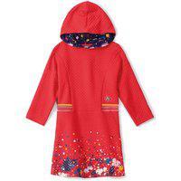 Vestido Lilica Ripilica Infantil Vermelho