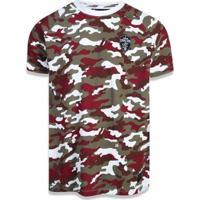 Camiseta Cleveland Cavaliers Nba New Era Masculina - Masculino-Bege