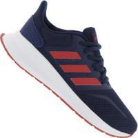 Tênis Adidas Run Falcon K - Infantil - Azul Esc/Vermelho