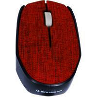 Mouse Sem Fio Goldship Tissu Mo-1532 Vermelho