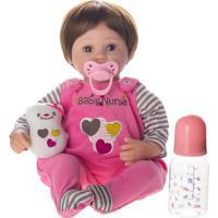 Boneca Laura Baby Nurse - Castanho- 39X16X13Cmshiny Toys