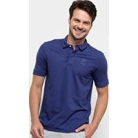 Camisa Polo Fila Beppe Masculina - Masculino-Marinho