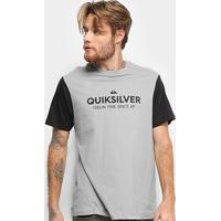 Camiseta Quiksilver Scripted Masculina - Masculino