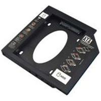 Adaptador Hdd/Ssd Para Notebook Via Baia De 12,7Mm Cd/Dvd Multilaser- Ga173