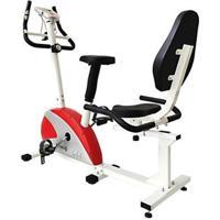 Bicicleta Magnética De Exercícios Ergométrica Wct Fitness - Unissex-Branco